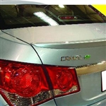 Chevrolet Cruze Lip Mount Painted Rear Spoiler (small), 2011, 2012, 2013, 2014, 2015