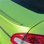 Ford Fiesta Sedan Painted Rear Spoiler, 2011, 2012, 2013, 2014