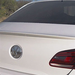 Volkswagen CC Painted Rear Spoiler, 2009, 2010, 2011, 2012, 2013, 2014, 2015