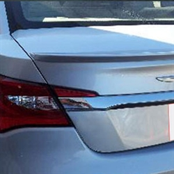 Chrysler 200 Lip Mount Painted Rear Spoiler (small), 2011, 2012, 2013, 2014