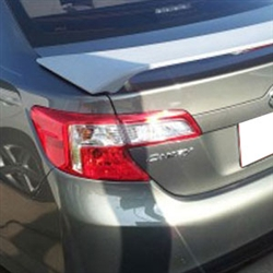 Toyota Camry 2 Post Painted Rear Spoiler (with light), 2012, 2013, 2014