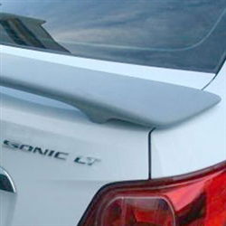 Chevrolet Sonic 2 Post with light Painted Rear Spoiler, 2012, 2013, 2014, 2015, 2016, 2017, 2018