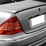 Mercedes S Class Painted Rear Spoiler, 1999, 2000, 2001, 2002, 2003, 2004, 2005, 2006