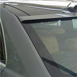 Mercedes E Class Sedan Roofline Painted Rear Spoiler, 2010, 2011, 2012, 2013, 2014, 2015, 2016