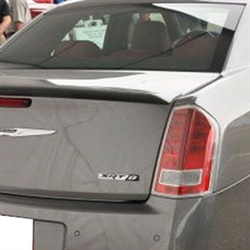 Chrysler 300 SRT8 Lip Mount Painted Rear Spoiler, 2011, 2012, 2013, 2014, 2015, 2016