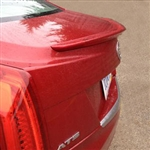 Cadillac ATS Painted Rear Spoiler, 2013, 2014