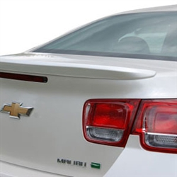 Chevrolet Malibu Lip Mount Painted Rear Spoiler, 2013, 2014, 2015