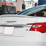 Chrysler 200 Lip Mount Painted Rear Spoiler (large), 2011, 2012, 2013, 2014