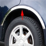 Cadillac Deville Wheel Well Fender Trim, 1997, 1998, 1999
