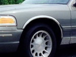 1992-1997 Mercury Grand Marquis LS Fender Trim