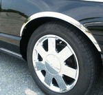 Ford Thunderbird Stainless Steel Wheel Well Trim, 4pc  2003 - 2005