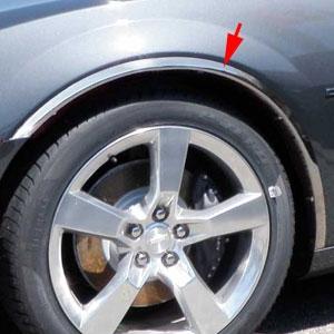 Chevrolet Camaro Chrome Wheel Well Fender Trim 2010 2011