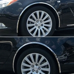 Buick Regal Chrome Wheel Well Fender Trim, 2011, 2012, 2013