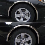 Chevrolet Malibu Chrome Wheel Well Fender Trim, 2013, 2014, 2015