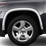 Chevrolet Suburban Chrome Wheel Well Fender Trim, 2015, 2016, 2017, 2018