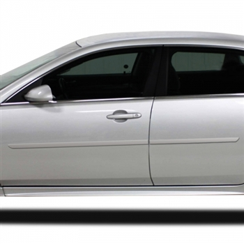 Chevrolet Impala Painted Body Side Moldings, 2006, 2007, 2008, 2009, 2010, 2011, 2012, 2013