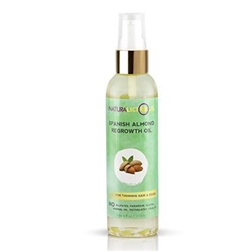 Naturalicious Spanish Almond Regrowth Oil 4oz