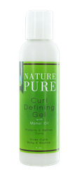 Nature Pure Curl Defining Gel With Monoi Oil 4oz