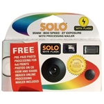 Solo Plus Digital Camera 27 Exposures (Receive Prints And CD)