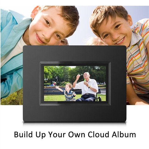 7 Inch Smart Wifi Cloud Digital Photo Frame With Built In Battery