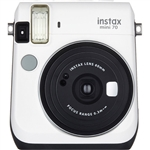 Fujifilm instax mini 70 Instant Film Camera (Moon White)