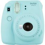 Fujifilm instax mini 9 Instant Film Camera (Ice Blue)