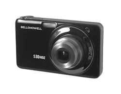 BELL+HOWELL® Slim 15.0MP Digital Camera & HD Video w/5X Wide-Angle Optical Zoom-BLACK