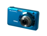 BELL+HOWELL® Slim 15.0MP Digital Camera & HD Video w/5X Wide-Angle Optical Zoom- BLUE