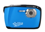 BELL+HOWELL® Splash2 16.0MP / HD Underwater Digital & Video Camera (Waterproof to 10 ft.)-BLUE