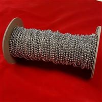 Metal Bead Chain #10, roll of 100ft. Nickel