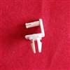 REAR ROD LOUVER CUFFLINK, WHITE, PALM BEACH SHUTTER