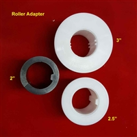"Tube Adapter  2"", black"