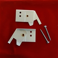 "KIT. 3/4""  Swivel Brackets for Hunter Douglas Duette. Pack of 2"