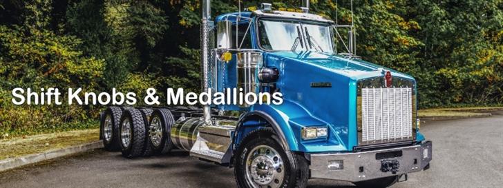 Semi Gear Shift Knobs : Semi truck gear shift knobs valves shifter medallions