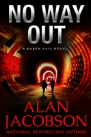 No Way Out by Alan Jacobson | Signed & Lettered Limited Edition UK Book