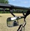 "Seizmik Wide Angle Rear View Mirror for 2"" Bars"