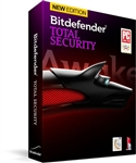 BitDefender Total Security 2014 3 User 1 Year