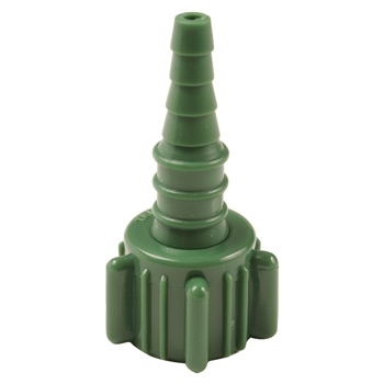 0132 Swivel Oxygen Connector, Green, 50/Pkg