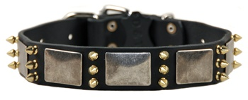 Handmade Leather Dog Collar. Leather and Nylon Dog Products. Leashes, Collars, Harnesses, Muzzles, Professional Equipment.