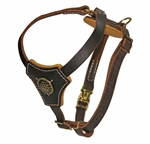 Handmade Leather Dog Harness. Leather and Nylon Dog Products. Leashes, Collars, Harnesses, Muzzles, Professional Equipment.