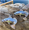 Plain Speckle Trout Pendant