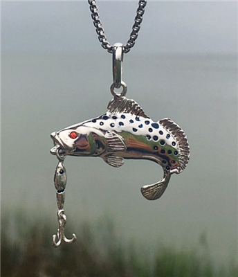 Trout Lure Pendant