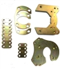"Bolt on Rear Brake Bracket Kit for 9"" Ford"