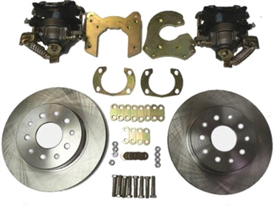 "9"" Ford Econo Rear Disc Brake Kit with Emergency Brake Calipers"