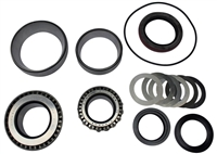 "Bearing, Races, o ring, spacer & seal Kit for Ford 9"" Large Bearing Alum. 35 spline Pinion Support"