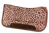 Elite Non-Slip Saddle Pad 32X32 Giraffe