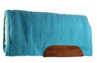 San Juan Barrel Saddle Pad Turquoise 34X30