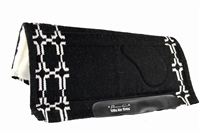 SMx Air Ride Saddle Pad 34X36 Black