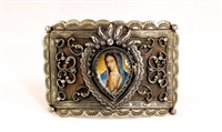 Our Lady of Guadalupe buckle