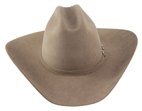 "Rodeo King 5X Tan Belly w/ Buckle Set 4 1/4"" Brim"